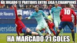 Enlace a Messi está on fire esta temporada