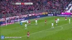 Enlace a GIF: Robben abrió la lata contra Wolfsburgo con esta joya