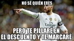 Enlace a Sergio Ramos vuelve a salvar al Madrid en el tiempo de descuento