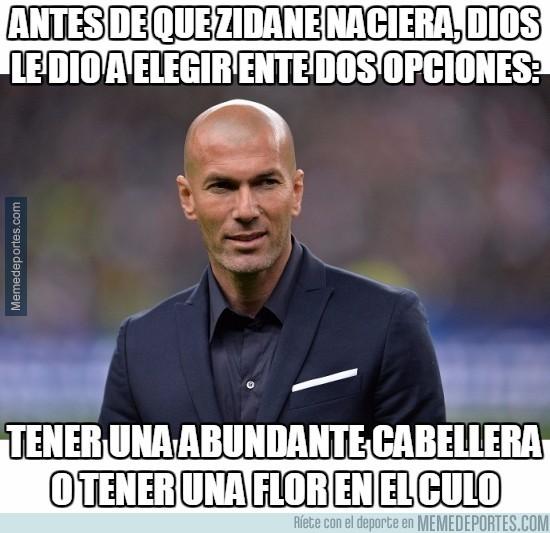 931776 - Antes de que Zidane naciera, Dios le dio a elegir ente dos opciones
