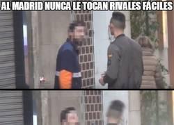 Enlace a Al madrid nunca le tocan rivales fáciles