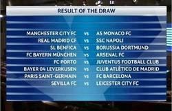 Enlace a Así quedan los emparejamientos de octavos de final de la Champions League
