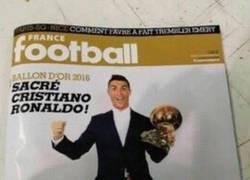 Enlace a Se filtra la portada de France Football con el ganador del balón de oro