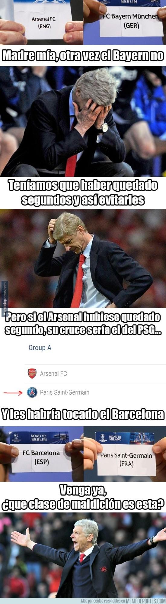 932183 - Quedara como quedara el Arsenal, estaba maldecido en esta Champions