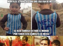Enlace a Messi y Murtaza se encuentran al fin