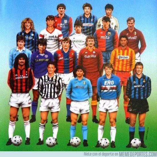 932679 - La serie A 1990/1991, cuando era la mejor liga del mundo