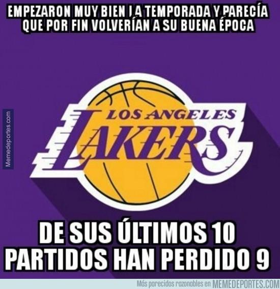 932995 - Los Lakers no atraviesan su mejor momento de la temporada ni mucho menos...