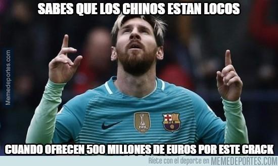 933275 - El equipo chino al que entrena Manuel Pellegrini ofrece 500 millones a Leo Messi