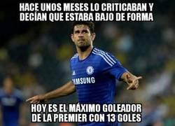 Enlace a Espectacular mejoría de Diego Costa esta temporada