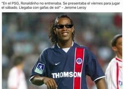 Enlace a Ronaldinho no necesitaba entrenar en el PSG