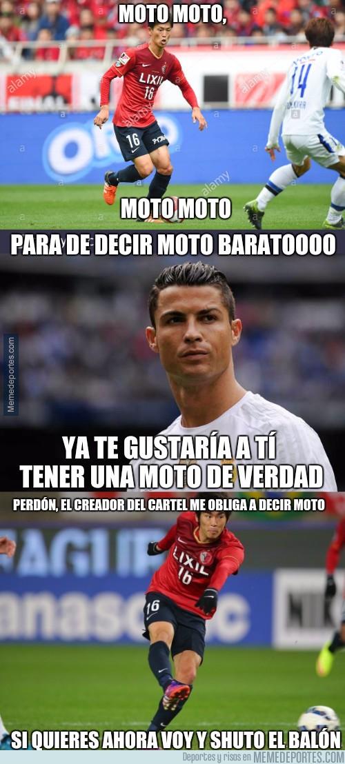 933582 - La conversación privada entre Cristiano Ronaldo y Shuto Yamamoto