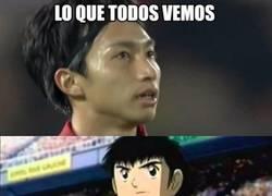 Enlace a Shibasaki, el Oliver Atom del fútbol