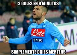 Enlace a Tremendo partidazo de Dries Mertens ante el Torino