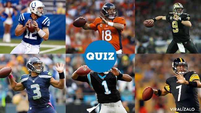 933932 - QUIZ: ¿Sabes cuál es el quarterback de cada equipo?