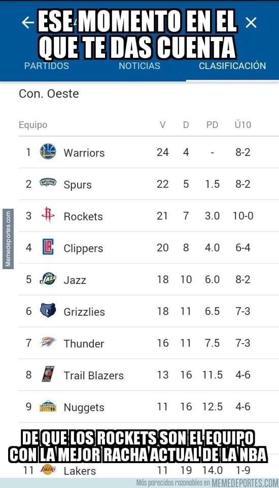 934014 - Houston Rockets lleva 10 jornadas contando sus partidos por victorias