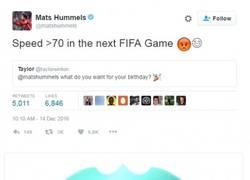 Enlace a EA Sports responde a la petición de Hummels de subirle su velocidad en el FIFA