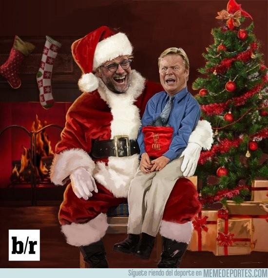 934148 - Klopp y el Liverpool le desean una Feliz Navidad muy