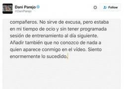 Enlace a La excusa de Dani Parejo tras ser pillado de fiesta en modo Masiel
