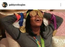 Enlace a La gimnasta Gabby Douglas vacila a sus haters de esta forma. ¡Grande!