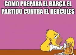 Enlace a Así preparan el partido ante el Hércules