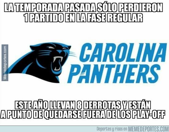 934204 - Los Panthers atraviesan una mala temporada en la NFL