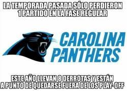 Enlace a Los Panthers atraviesan una mala temporada en la NFL