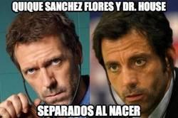 Enlace a Quique Sánchez Flores y Dr. House