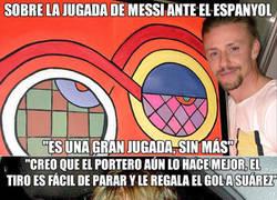 Enlace a El chiste de Guti sobre la jugada de Messi