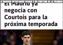 Enlace a El Madrid intentando fichar a un portero de la premier