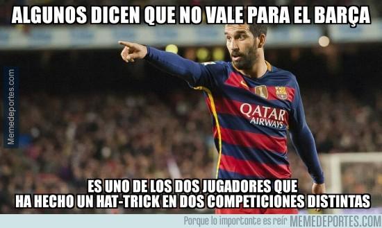 934499 - Arda tiene un récord que sólo Messi ha igualado esta temporada en el Barça