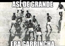 Enlace a Garrincha a lo Oliver, porque no solo lo hace Iniesta y Messi