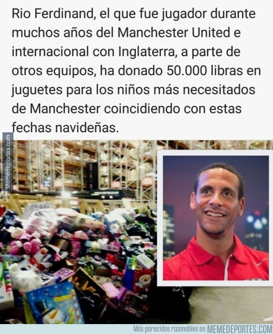 934580 - Gran gesto de Rio Ferdinand #Respect