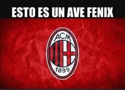 Enlace a El AC Milan volviendo a levantar títulos