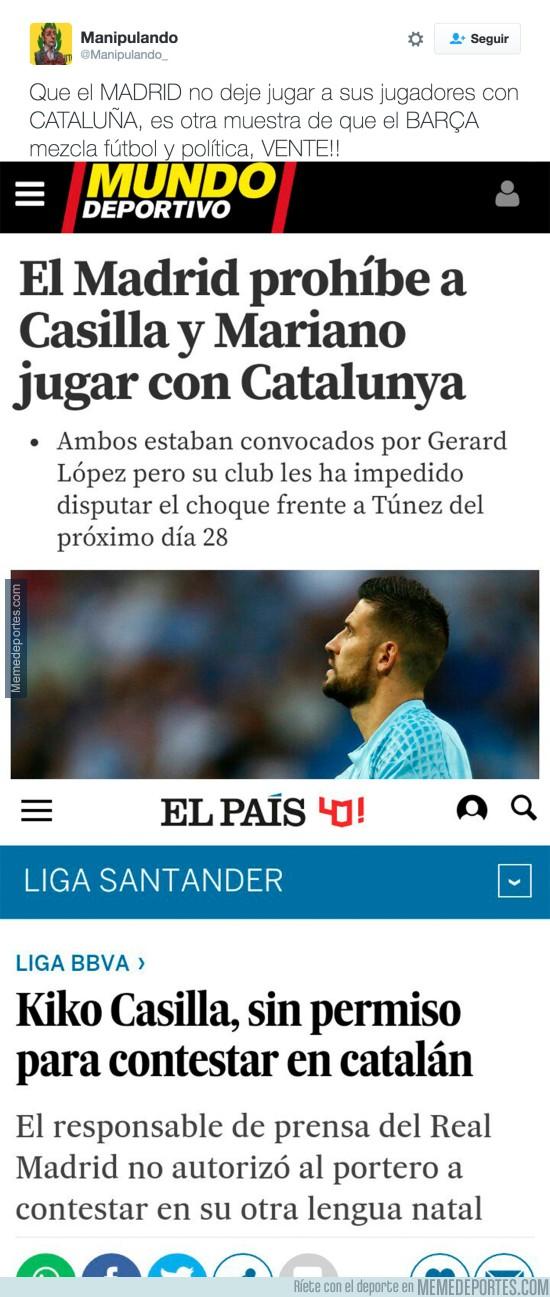 934880 - La que se liaría si es el Barça el que prohíbe a algún jugador ir con España