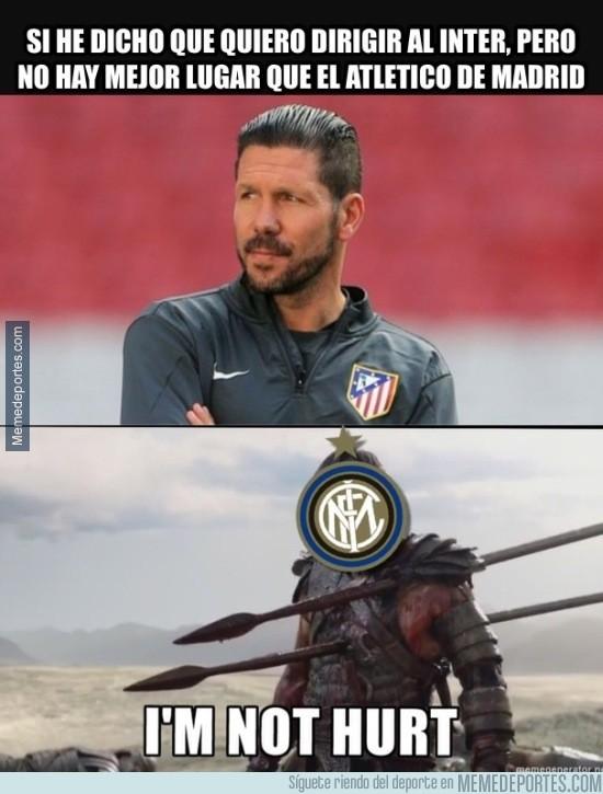 934891 - Las palabras del Cholo le duelen al Inter