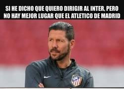 Enlace a Las palabras del Cholo le duelen al Inter