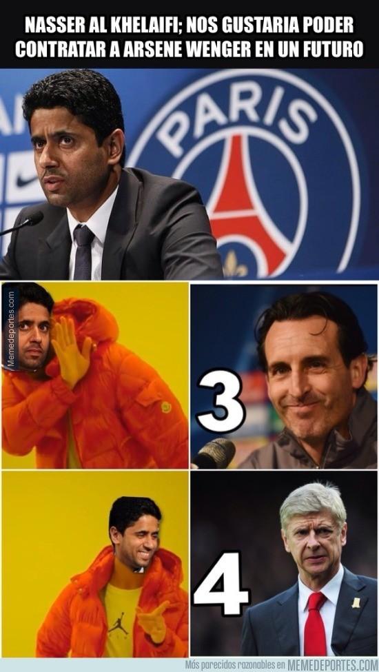 934984 - Nasser al Khelaifi el dueño del PSG ya tiene decidido lo que quiere hacer con su equipo