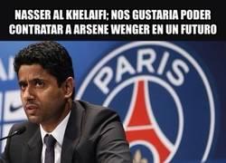 Enlace a Nasser al Khelaifi el dueño del PSG ya tiene decidido lo que quiere hacer con su equipo