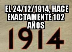 Enlace a Gran lección de vida y de fútbol en 1914