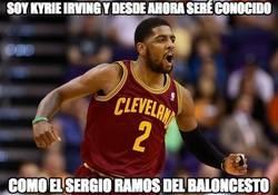 Enlace a Kyrie Irving, el Sergio Ramos del Baloncesto