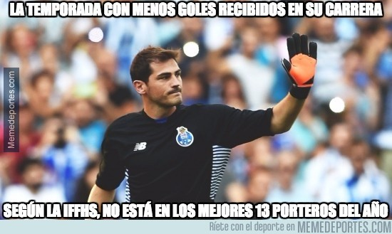 935173 - Mala suerte la de Casillas