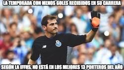 Enlace a Mala suerte la de Casillas
