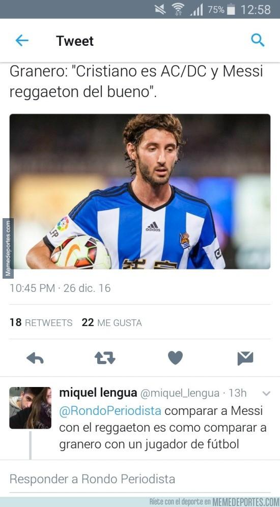 935206 - Tremendo zasca de un usuario de twitter a Esteban Granero