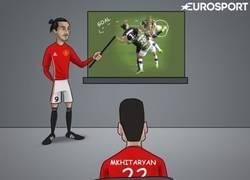 Enlace a Zlatan le enseña a Mkhitaryan, ahora todo tiene sentido