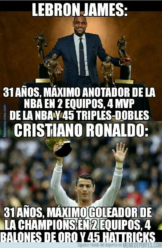 935530 - LeBron James y Cristiano Ronaldo ¿Casualidad?