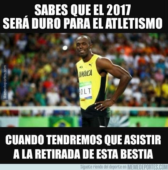 935560 - En los Mundiales de 2017 veremos la retirada de Usain Bolt