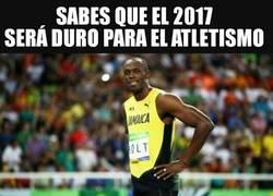 Enlace a En los Mundiales de 2017 veremos la retirada de Usain Bolt