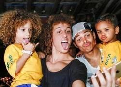 Enlace a David Luiz y Thiago Silva tienen a sus pequeños clones