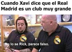 Enlace a Madridistas después de escuchar a Xavi