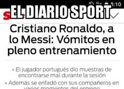 Enlace a Lo de Sport con Cristiano Ronaldo empieza a ser preocupante